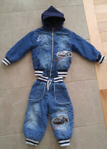 Jeans suit