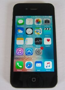 Black Iphone 4 32GB  FACTORY UNLOCKED  9/10 Condition