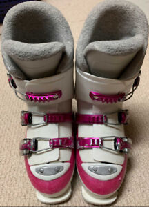 Rossignol girls ski boots size 22.5 ages ~ 6-10