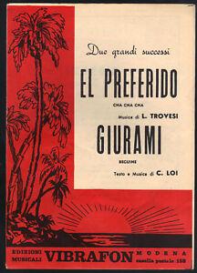 EL-PREFERIDO-L-Trovesi-GIURAMI-C-Loi-SPARTITO