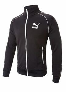 Black Puma Icon Track Jacket Size XL, fits like L - BNWT-