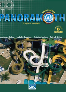 panoramath secondaire 2 (manuel B volume 2)