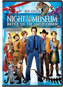 Night At The Museum-Battle of the Smithsonian-new/sealed + bonus