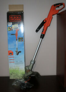 Black and Decker 20V Max Li-ion Shaft Cordless Grass Trimmer(12-