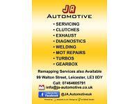 J&A Automotive - Mechanic Services - MOT Repairs - Cambelt - Clutch - Welding