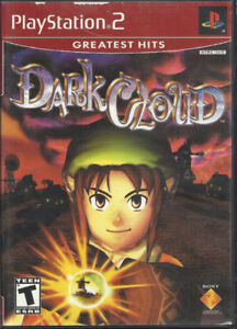 PS2 DARK CLOUD Greatest Hits for Playstation 2 PS2 Complete game