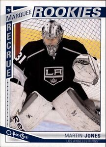 MARTIN JONES .... O.P.C. ROOKIE CARD .... 2013-14 O-Pee-Chee