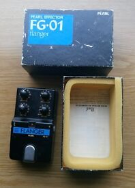 Pearl flanger effects pedal