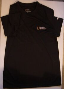 NATIONAL GEOGRAPHIC / T-SHIRT / noir / neuf / 1x /
