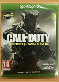 **SEALED** CALL OF DUTY INFINITE WARFARE XBOX ONE S GAME BRAND NEW FOR XBOX 1 S