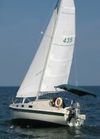 Tanzer 7.5 Shallow Draft Sailboat with Trailer