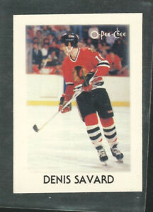 1987-88 O Pee Chee NHL Leaders Denis Savard