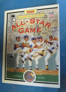 1991 Major League Baseball All-Star Game Program