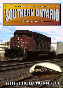 Canadian National In Southern Ontario - Vol 3