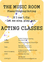 START YOUR ACTING CAREER TODAY!