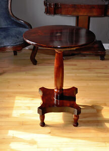 Antique Occasional Table / Side Table / Candlestick Table