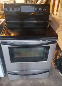 Stainless Frigidaire Convection Stove CGLEF379DCH