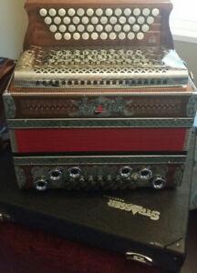 Strasser Steirische Harmonika Button Box Accordion