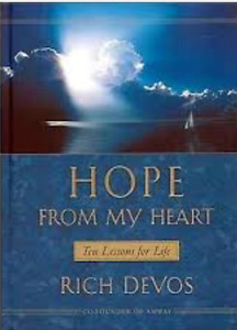 Hope From My Heart: Ten Lessons For Life Hardcover