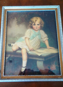 Vintage Print in Frame Kitchener / Waterloo Kitchener Area image 2