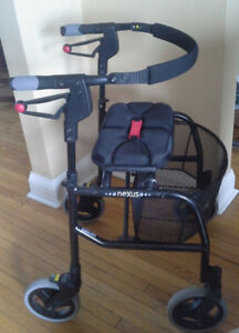 NEXUS 3 walker,  for medium height, perfect cond., with basket