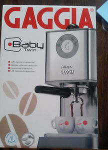 Brand New in Box Gaggia Baby Twin