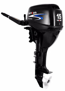 Parsun 15 hp outboard, short leg, manual start North Shore Greater Vancouver Area image 2