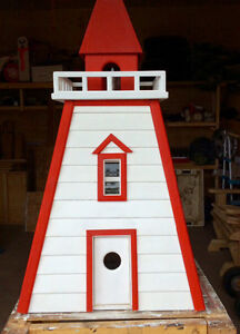 Handmade lighthouse well head cover