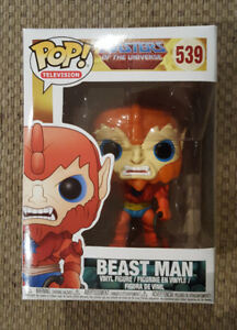 Pop Funko Vinyl Beast Man Masters of the Universe