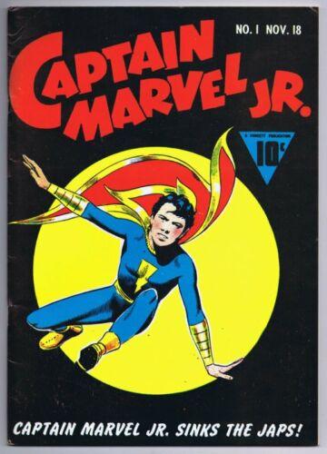 Flashback #17 VINTAGE 1974 Dynapubs Reprints Captain Marvel Jr #1