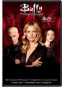 Buffy The Vampire Slayer-Complete 5th Season (6 dvds)-new