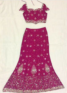 BRAND NEW DESIGNER LENGHA wITh MATCHING JEWELRY  BRAND NEW