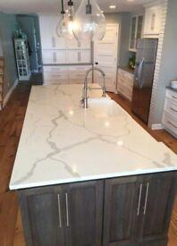 Quartz / Marble / Granite Kitchen Worktops, Vanity Units, Fireplaces, Staircases, Surfaces