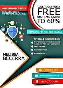 LOW INSURANCE RATES FOR AUTO, HOME AND COMMERCIAL INSURANCE