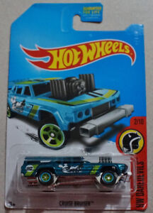 Hot Wheels Cruiser Bruiser 1/64 scale SUPER TREASURE HUNT (Rare)