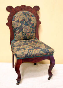 Superb Restored Antique Occasional Chair  SEE VIDEO