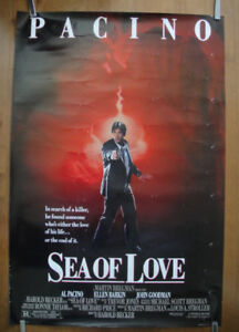Sea Of Love (1989) Original Rolled Movie Poster