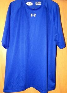 MEN UNDER ARMOUR HEAT GEAR TOPS LIKE NEW - BUY ONE GET ONE FREE