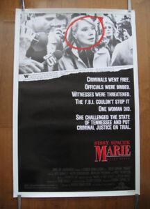 Marie A True Story (1985) Original Movie Poster AKA #MeToo
