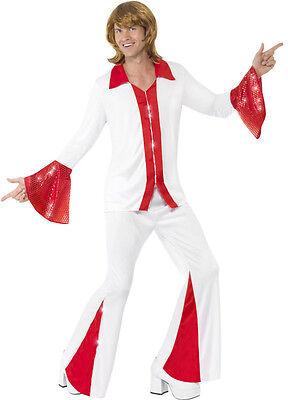 Super Trooper Herren Kostüm weiß/rot NEU - Herren Karneval Fasching - Super Troopers Kostüm