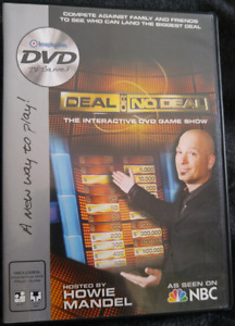 Deal Or No Deal DVD interactive game show