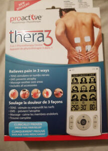 NEW! PROACTIVE THERA 3 IN 1 Physiotherapy device