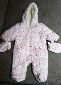 First size snowsuit from Next