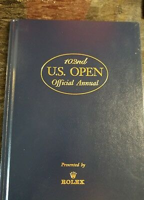 102nd US Open Official Annual Presented by Rolex, HC 2002 Tiger Woods U.S. U S