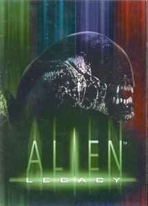 1998 ALIEN LEGACY TRADING CARD SET 90 CARDS W/WRAPPER