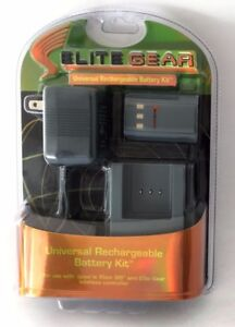 Elite Gear Universal Rechargeable Battery Kit, new