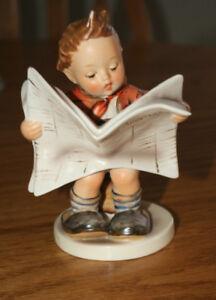 """Vintage Hummel/Goebel """"LATEST NEWS"""" figurine"""
