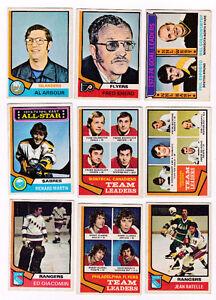 À vendre ou à échanger : vieilles cartes de hockey et baseball