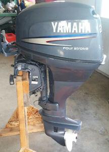2007 Yamaha 25 hp four stoke tiller long shaft