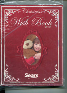 SEARS CATALOGUE * 2008 CHRISTMAS WISH BOOK * MINT